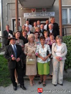 Stretnutie 50-níkov -Pohorelá, 27.8.2011