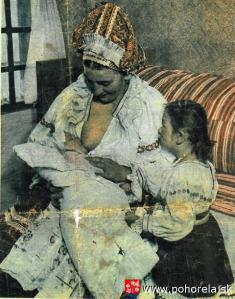 Dojčiaca matka -Búvajže mi búvaj, len sa nenadúvaj, lepšie ti búvati, jak sa nadúvati ...