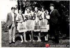 Ján Tešlár -s členmi DSF Mladosť Pohorelá