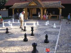 Šachový týždeň 2009-- jeden zaktérov partie M.Pálka vyrovnáva hru!