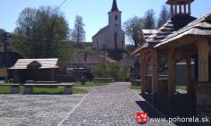Program obnovy dediny -- pohorelské námestie