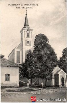 Pohorelá - 1926-Kostol