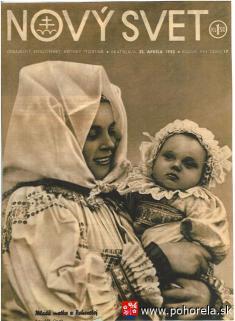 Mladá matka zPohorelej -