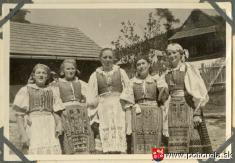 Pohorelské dievčatá -rok 1943