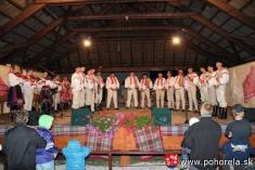 Dni obce 2013-Folklórny večer podOrlovou (foto: G.Buvalová)